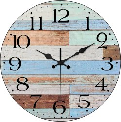 Amazon: LAMIKO Wall Clocks Non-Ticking $5.00 (Reg. $12.49)