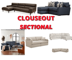 Macy's: Closeout Sectional Big Sale!