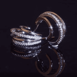 Amazon: 14K Gold Plated Women Stud Earrings for $4.42 (Reg. $11.96)