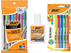 Walgreens: FREE BIC Ballpoint Pens, Highlighters and Wite-Out