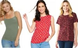 Kohl's: Women's Tees & Tanks for just $5.59 + FREE Pickup