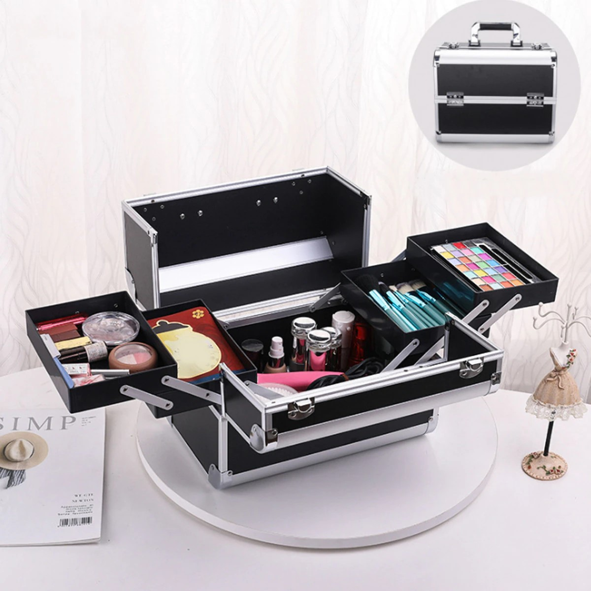 Top 5 best-selling makeup cases on AliExpress