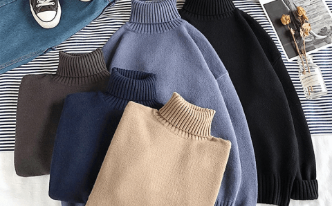 AliExpress's 5 best-selling men's turtleneck sweaters