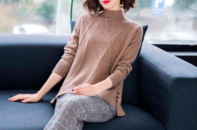 Top 5 women's turtleneck sweaters on AliExpress