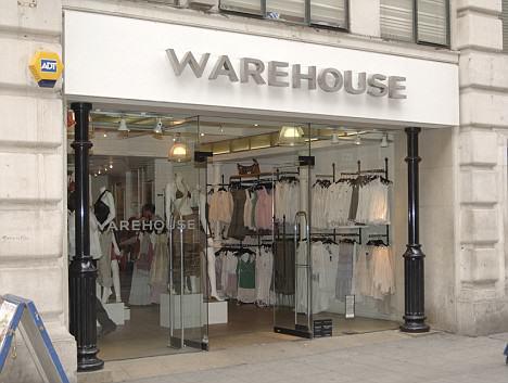 Warehouse fashion store