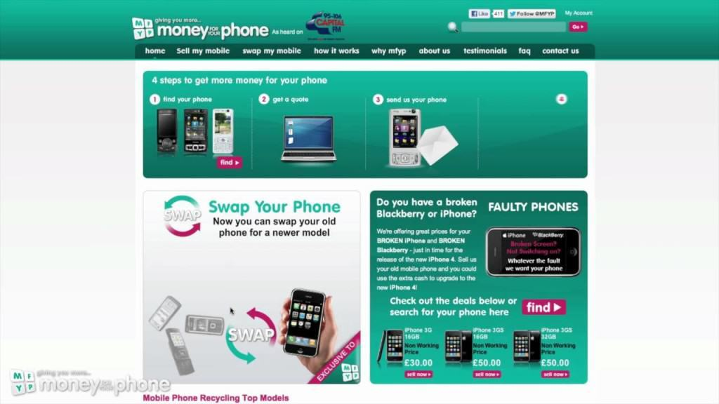 Money For Your Phone discount vouchers