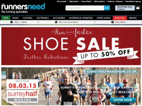 Runners Need promo vouchers