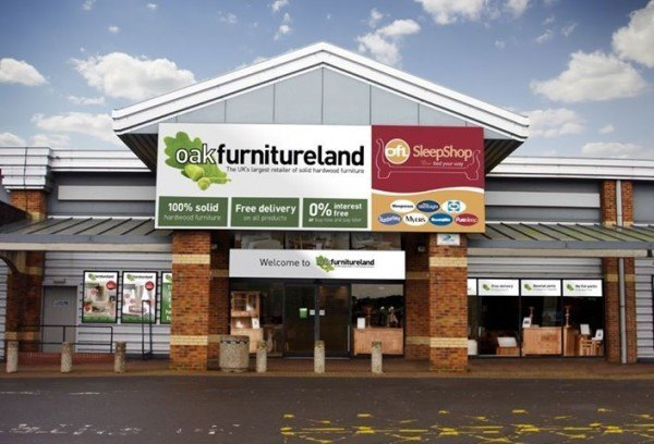 Oak Furniture Land voucher Code