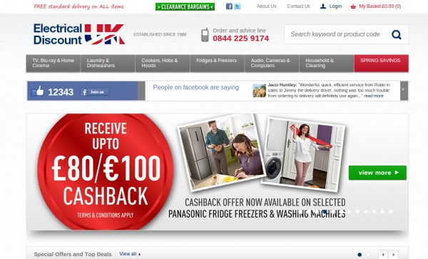 Electrical Discount Promo UK