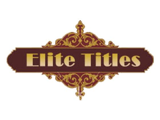 Elite Titles Promo Code