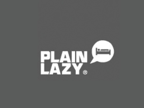 Plain Lazy Discount Code