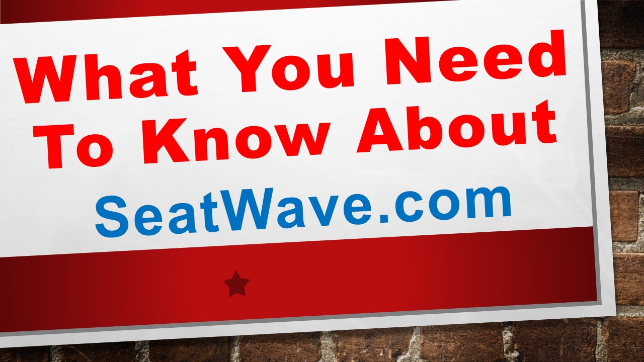 seatwave vouchers
