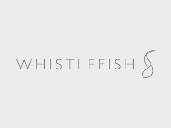 Whistlefish Promo Code