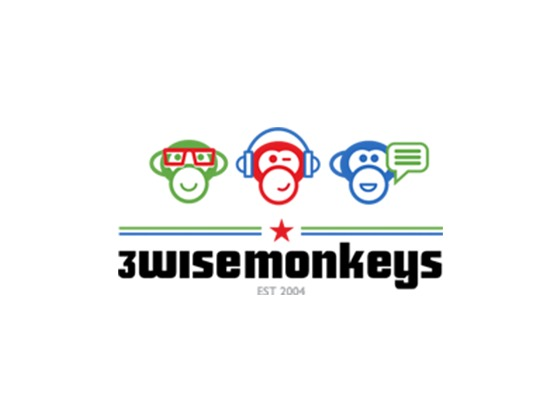 3 Wise Monkeys Promo Code