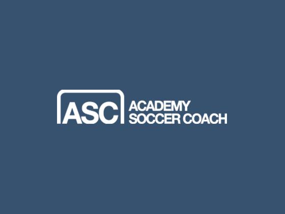 Academy Soccer Coach Voucher Code