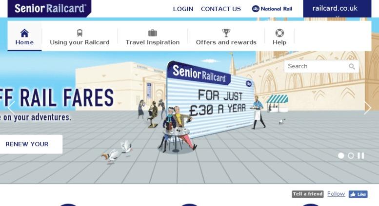 senior railcard