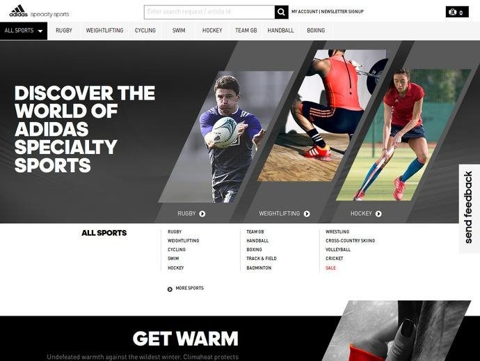 adidasspecialtysports.co.uk