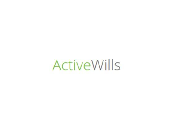 Active Wills Promo Code
