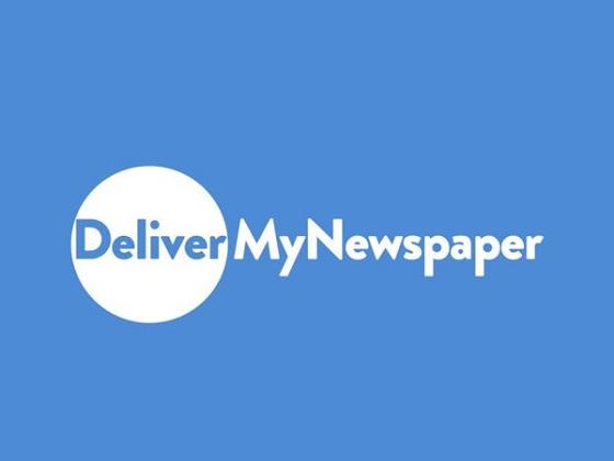 Deliver My Newspaper Discount Code