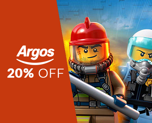 20% off selected LEGO City & Superheroes