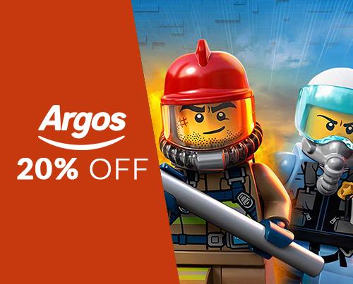 20% off selected LEGO City & Superheroes