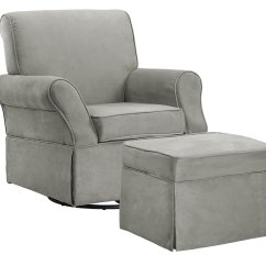 Toddler Chair And Ottoman Covers With Sashes For Rent Baby Relax The Kelcie Nursery Swivel Glider