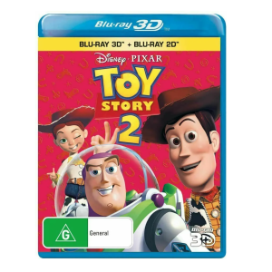 Toy Story 2 Blu-Ray and 3D Blu-Ray