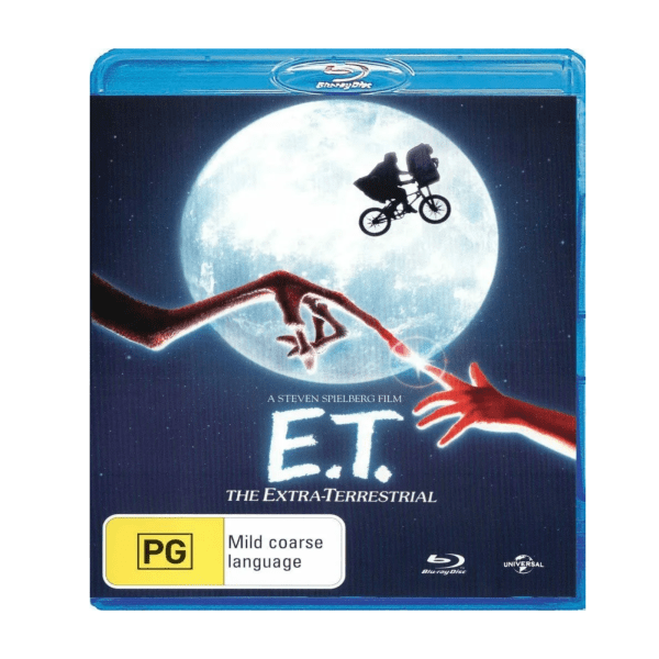 ET The Extra Terrestrial Blu-Ray
