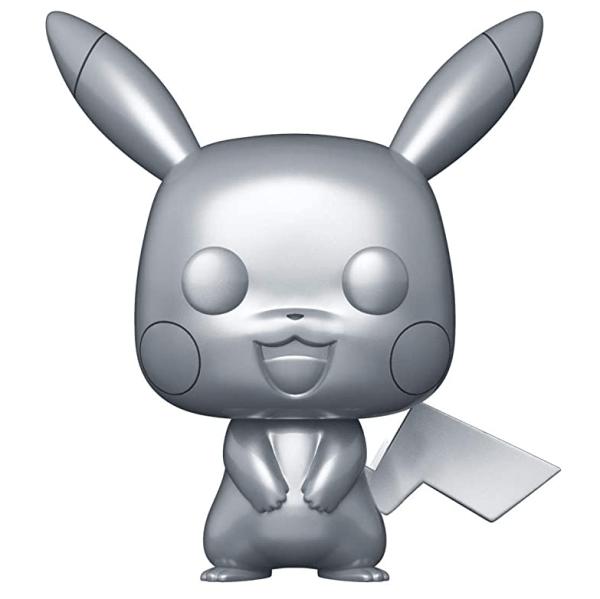 Pokemon Pikachu Silver Metallic Pop Vinyl Figure **Preorder