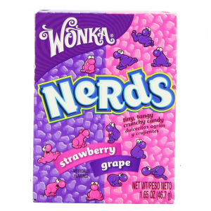 Wonka Nerds Strawberry and Grape Box 46.7g X 36 Boxes