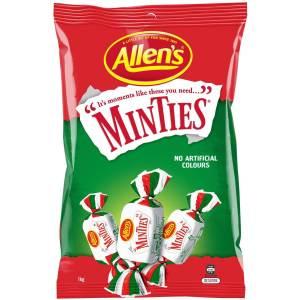 Minties Lollies Bag 1kg