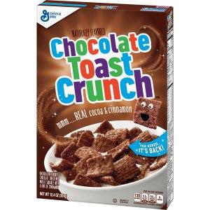 Chocolate Toast Crunch Cereal Box 340g - USA