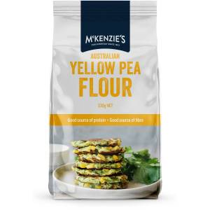 Mckenzies Australian Yellow Pea Flour 330g