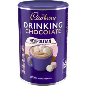 Cadbury Milk Drinking Chocolate Powder Neapolitan 250g