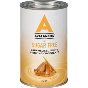 Avalanche Sugar Free Hot Caramelised White Chocolate 200g