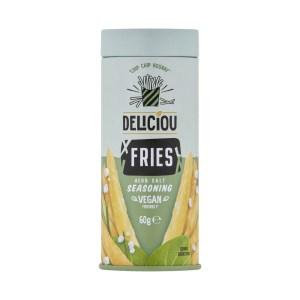 Deliciou Fries Herb Salt Seasoning Vegan Friendly 60g