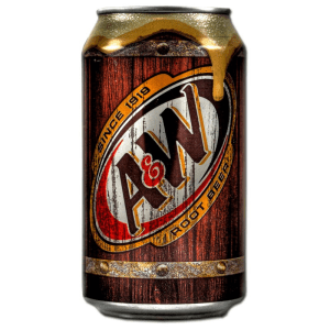 A&W Root Beer Soda Soft Drink Can 355ml X 2 Cans