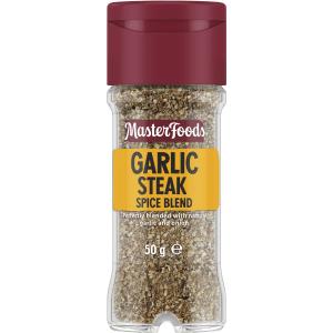 Masterfoods Garlic Steak Spice Blend Seasoning 50g