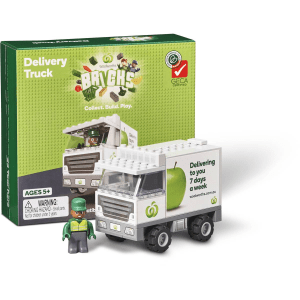 Woolworths Woolies Bricks Delivery Truck Collectables Promotion