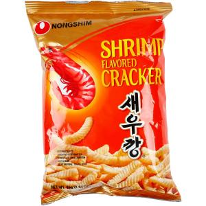 Nongshim Shrimp Crackers Chips Snack Pack 75g X 20 Bags