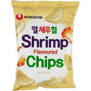 Nongshim Shrimp Meat Chip Flavoured Chips Snack Pack 75g X 20 Bags