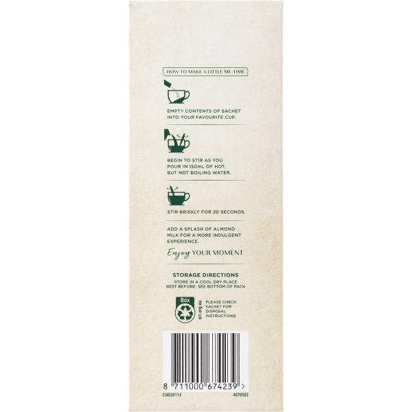 Moccona Coffee Almond Latte Sachets 8 Pack