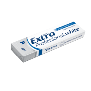 Wrigleys Extra Chewing Gum Professional White Peppermint 64g X 6 Bottles