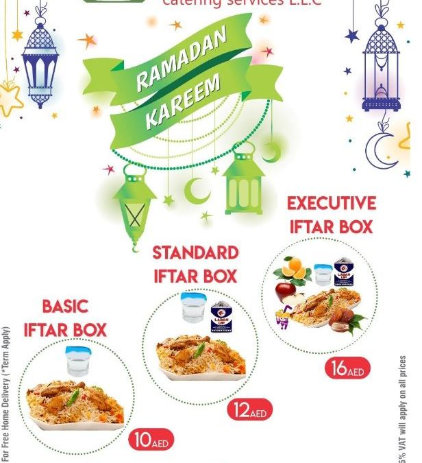 Deli Bite Catering Iftar Offer at 10 AED