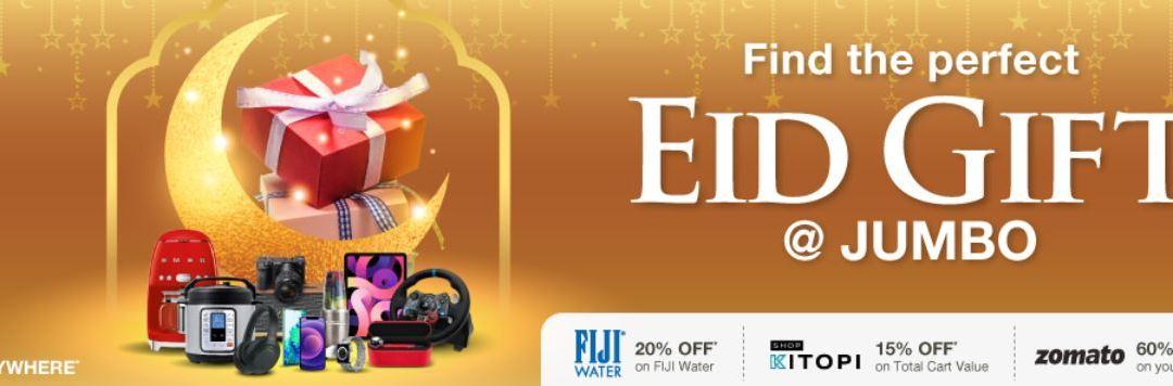 Jumbo Electronics Eid Gift Deals & Offers