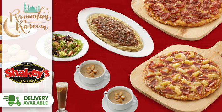 Shakey's Pizza Iftar or Eid Meals 2021