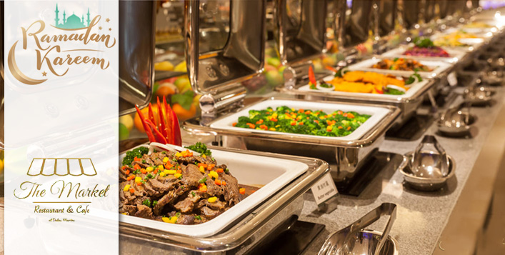 Iftar/Eid Buffet at The Market Restaurant