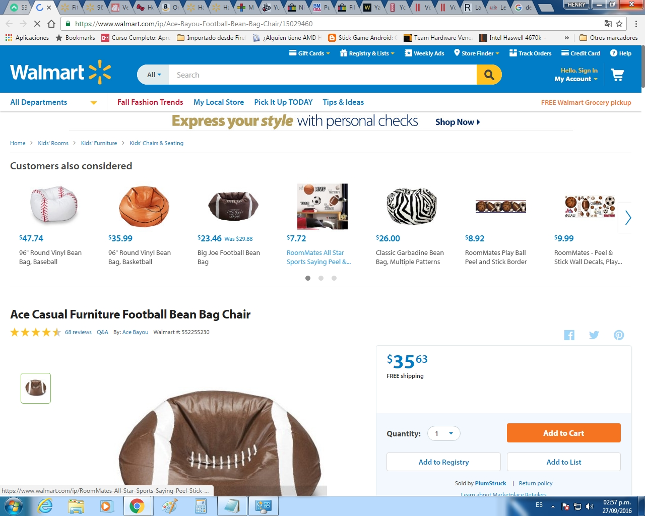 football bean bag chair aeron review 2017 40 off plumstruck coupon code screenshot verified