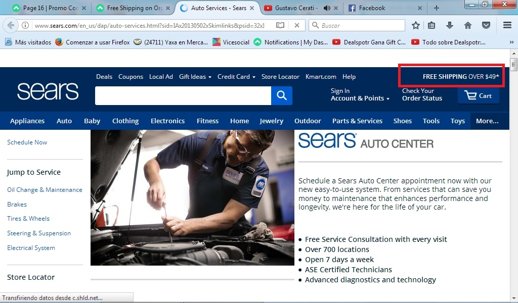 Sears Auto Center Coupons Coupons Promo Codes Auto Electrical
