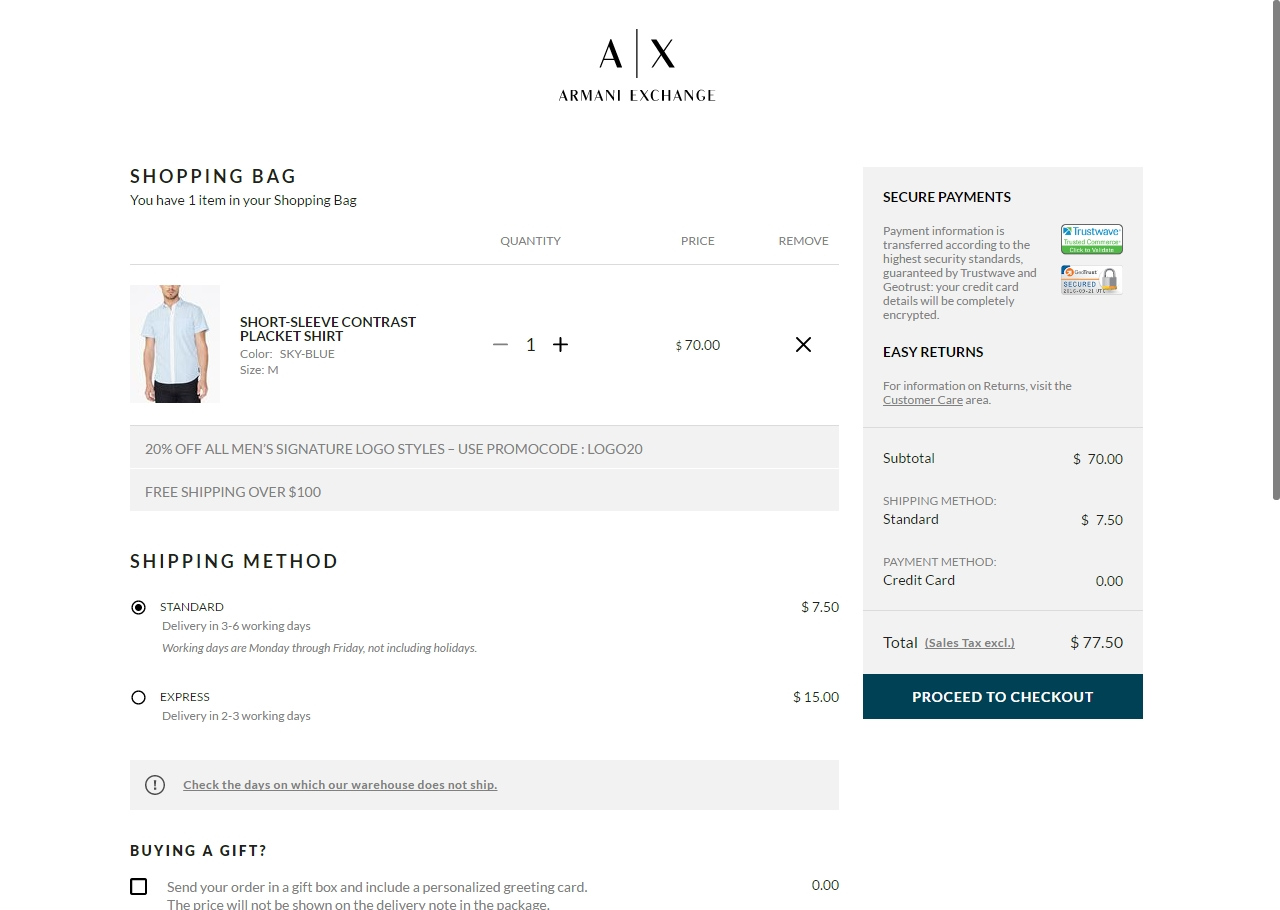 Armani Exchange Coupons Printable Tutore